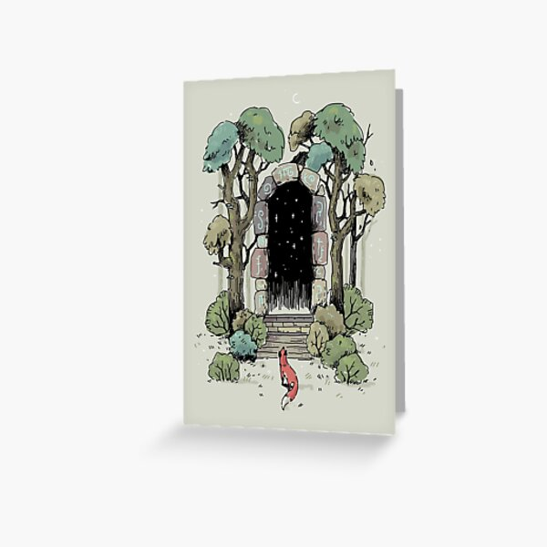 Forest Gate Greeting Card