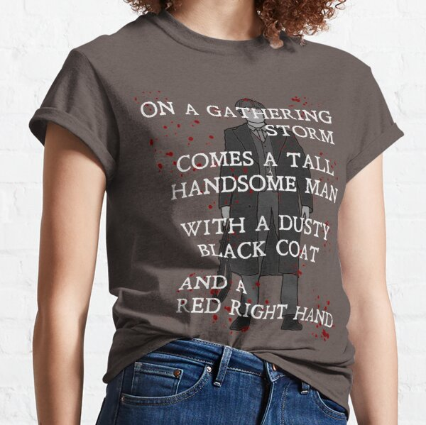 On a gathering storm: Peaky Blinders (Blood Splatter) Classic T-Shirt