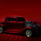 1934 Chevrolet Coupe Hot Rod by TeeMack