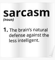 Sarcasm Poster