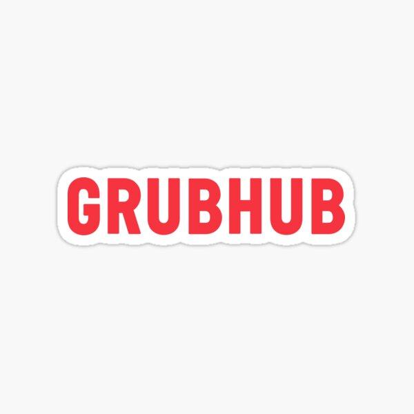 Grubhub Delivery  Sticker