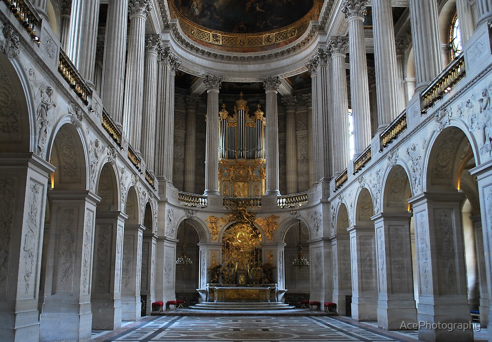 Versailles Church by AcePhotography