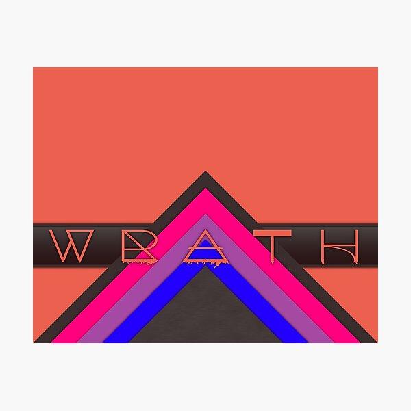Material Wrath - Bisexual Photographic Print