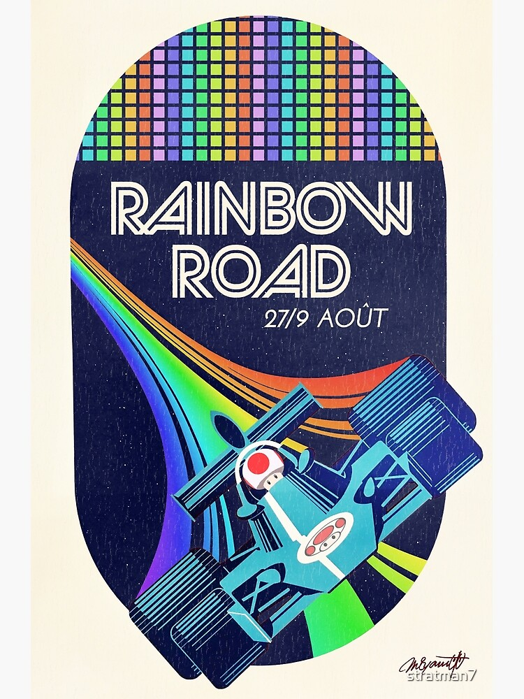 Rainbow Road Grand Prix by stratman7