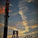 Fair at Sunset by Teresa Young