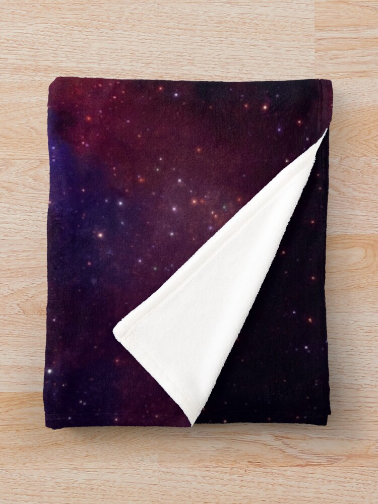 Alternate view of Shooting Stars - the astronaut artist Throw Blanket