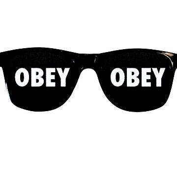 They Live - Sunglasses Obey by Oh-That-Guy-