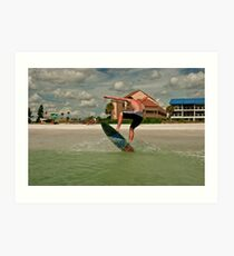 upham beach Art Print