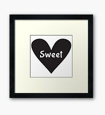 Sweet Heart Framed Print