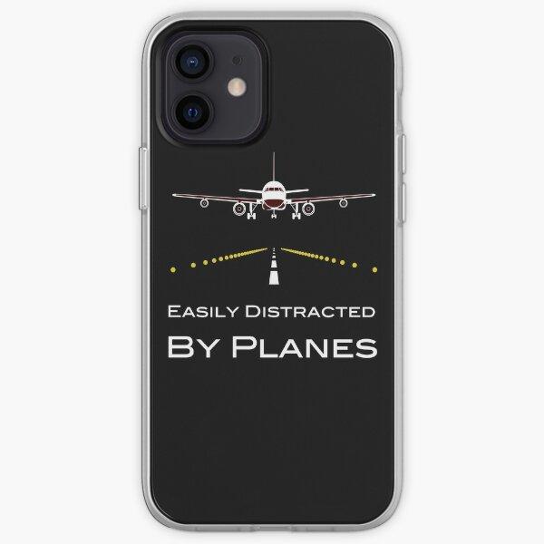 Facilement distrait par les avions Coque souple iPhone