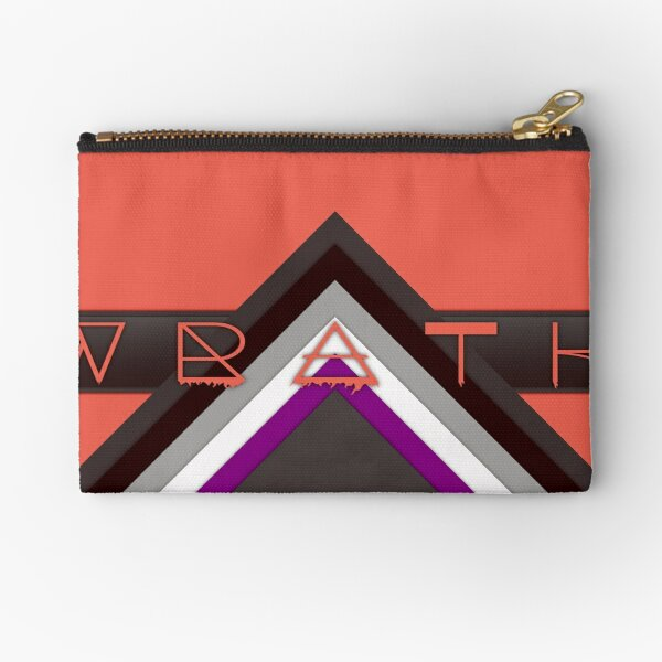 Material Wrath - Asexual/Demisexual Zipper Pouch