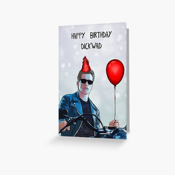 arnold schwarzenegger birthday! Greeting Card