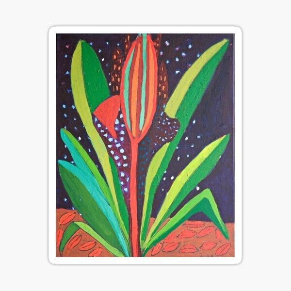 Cosmic Flower Zion Levy Stewart Zion Art Mullumbimby Sticker