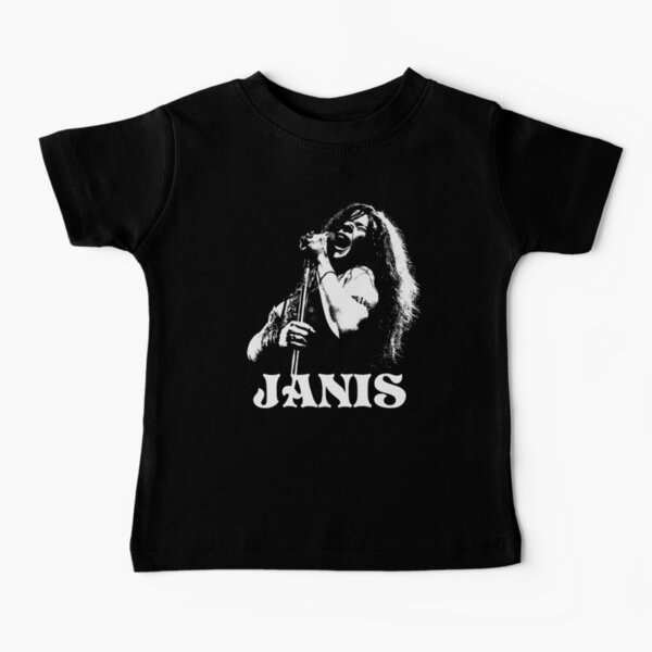 Janis - The White Stencil Baby T-Shirt