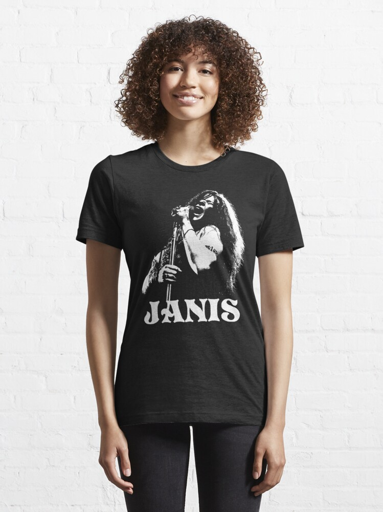 Alternate view of Janis - The White Stencil Essential T-Shirt