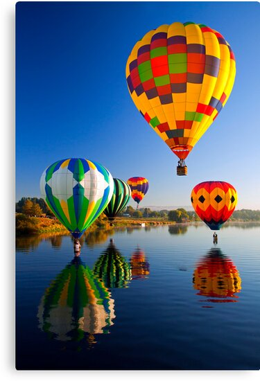Balloon Reflections by DawsonImages