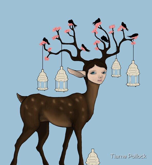 The Happy Springtime Deer! by Tiarne Pollock