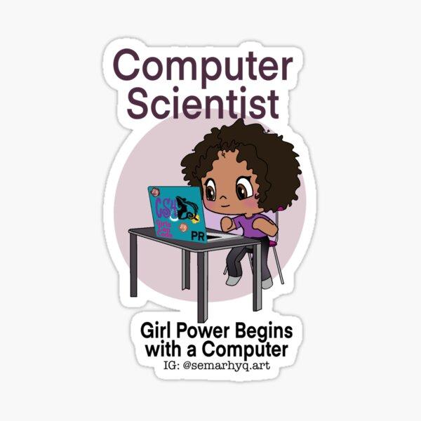 The Computer Scientists Sticker