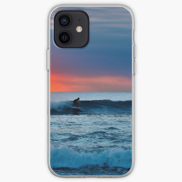 Sunset Surfing iPhone Soft Case