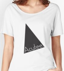 Acutee Women's Relaxed Fit T-Shirt