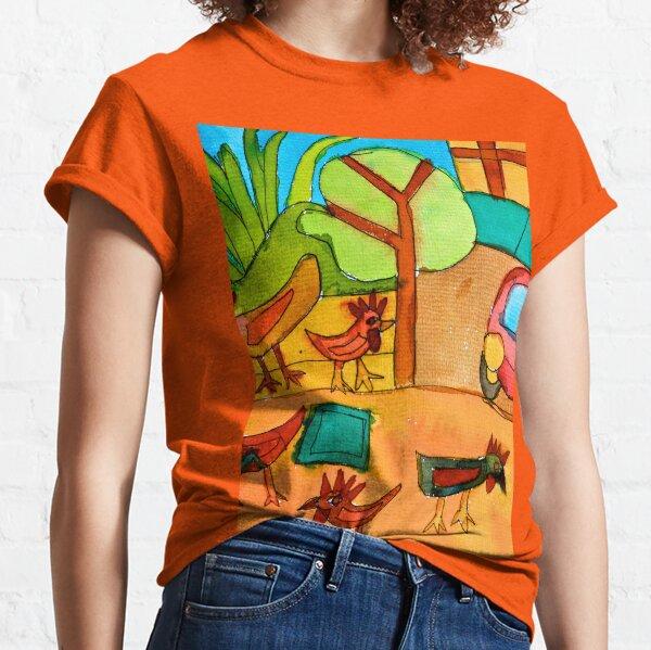 San Miguel Chickens Zionart Zion Levy Stewart Classic T-Shirt