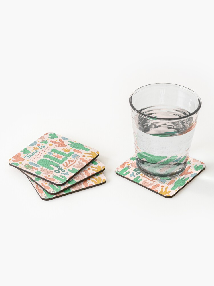 Alternate view of Room for All Coasters (Set of 4)