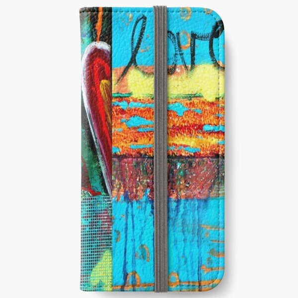 FLORAL LOVE iPhone Wallet
