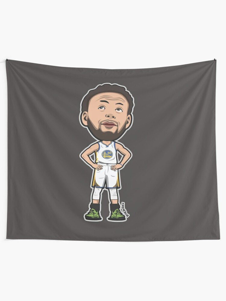 huge discount e690a ff58d Stephen Curry Cartoon Style | Wall Tapestry