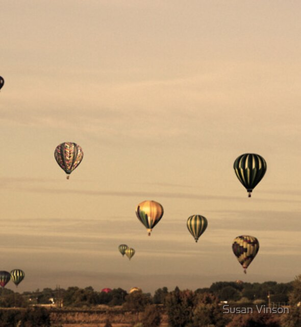 Balloons & A Full Moon by Susan Vinson