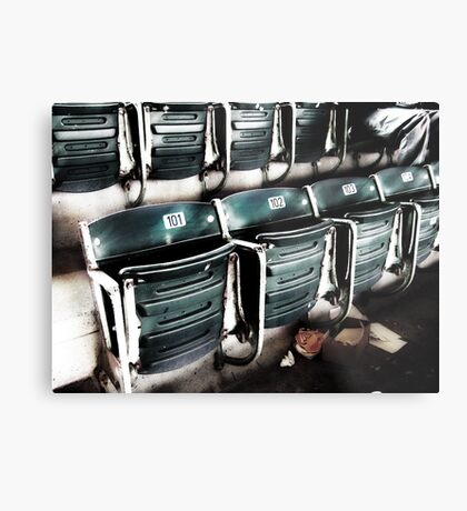 chicago cubs grandstand seats Metal Print