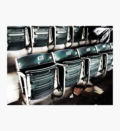 chicago cubs grandstand seats Photographic Print