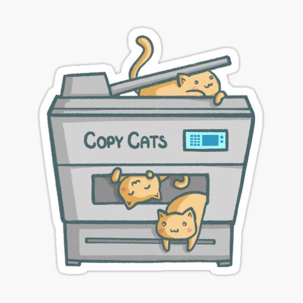 Copy Cats Sticker