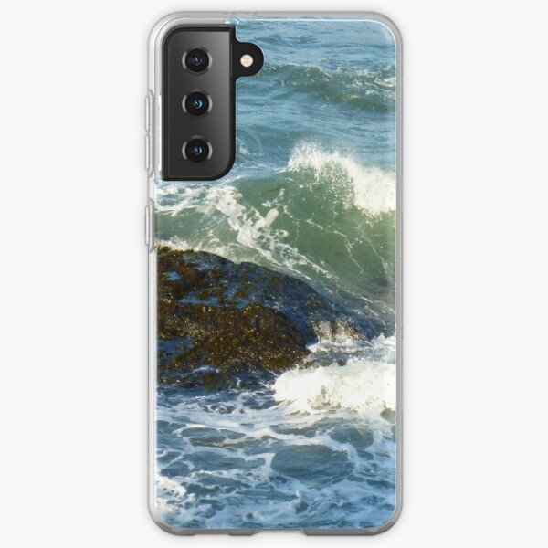 Late afternoon light from Tongue Point Samsung Galaxy Soft Case