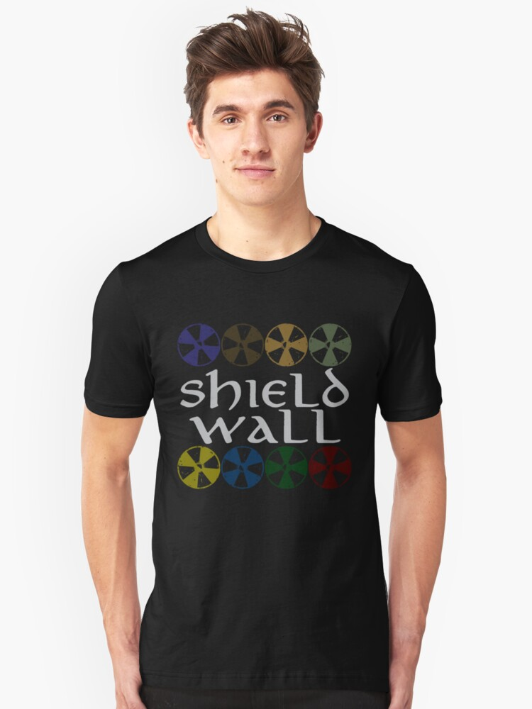 Shield Wall Unisex T-Shirt Front