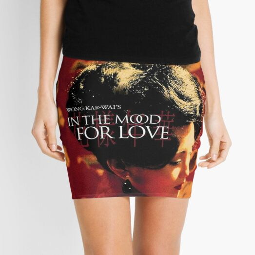 In The Mood For Love Poster Shirt - Wong Kar Wai      Mini Skirt
