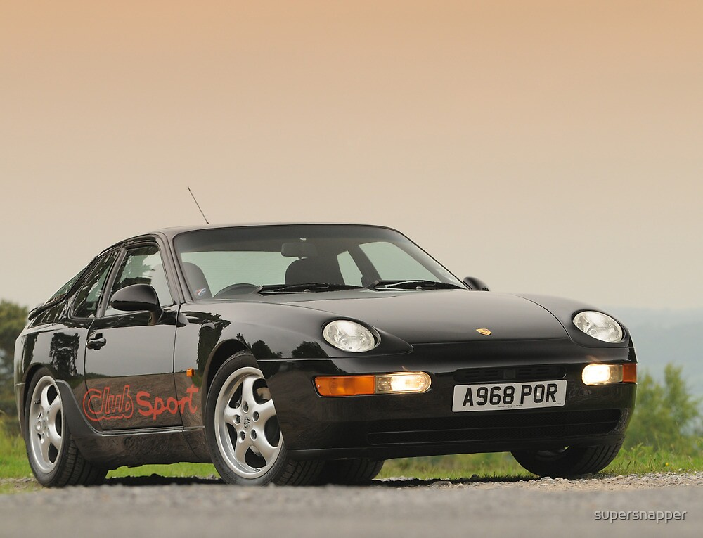 Porsche 968 CS by supersnapper