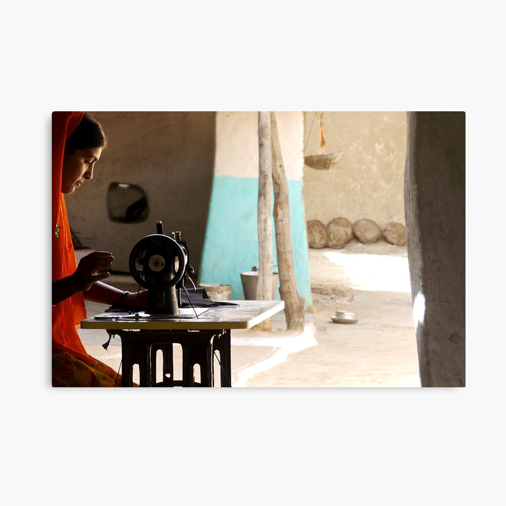 the sewing room Canvas Print