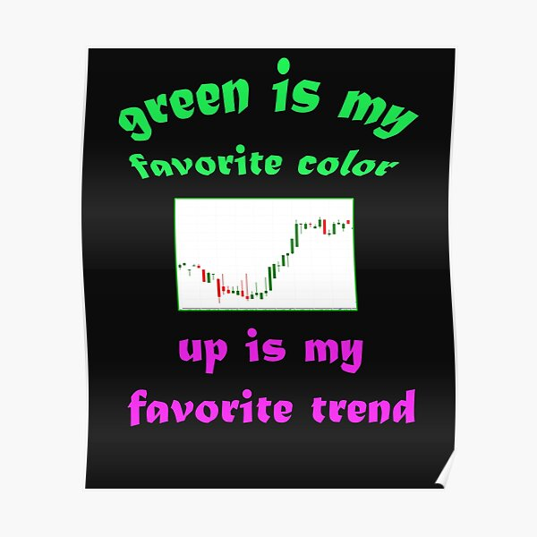 Trading Stock Market Trends Poster