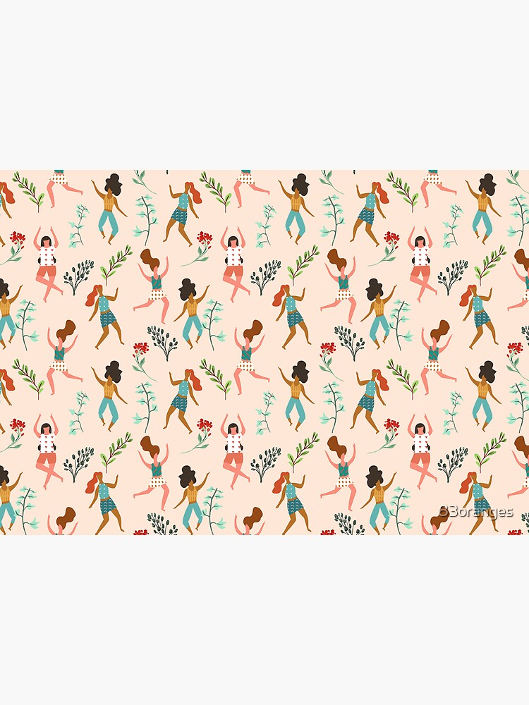 Central Park Workout #illustration #pattern #womensday by 83oranges
