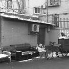 Beijing - Winter lounge. by Jean-Luc Rollier