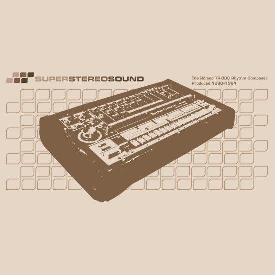 TShirtGifter presents: Super Stereo Sound: 808