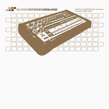 Super Stereo Sound: 808 by pixelounge