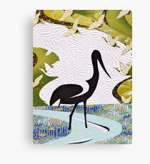 Jabiru Canvas Print