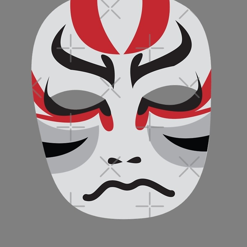 kabuki mask template japanese kabuki mask images galleries