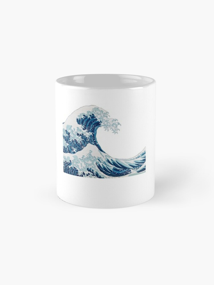 Alternative Ansicht von Wave Sticker Tasse
