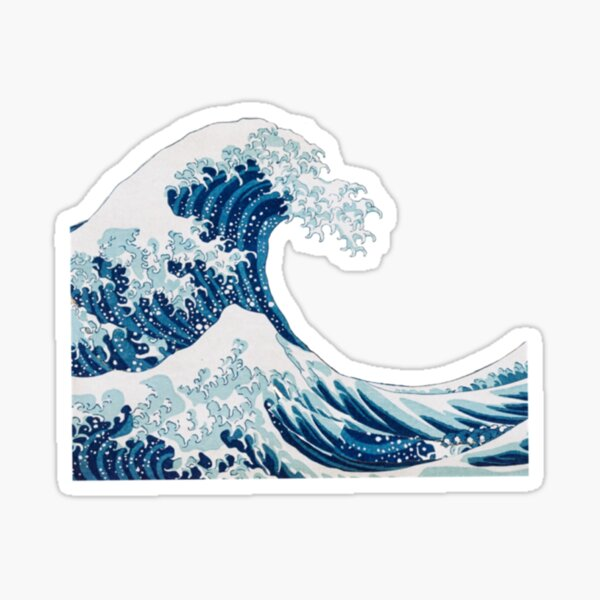 Wave Sticker Sticker