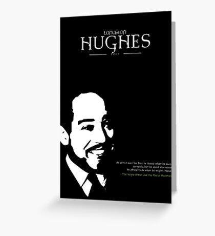 A Quote By Langston Hughes Greeting Card