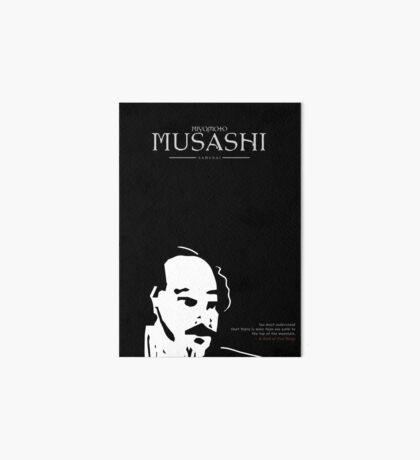 A Quote By Miyamoto Musashi Art Board Print