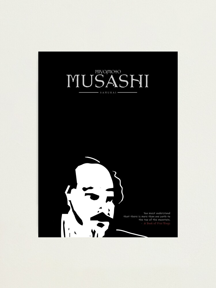 Alternate view of A Quote By Miyamoto Musashi Photographic Print