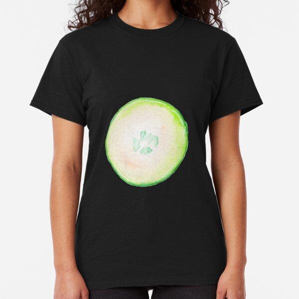 Watercolor Cucumber Classic T-Shirt